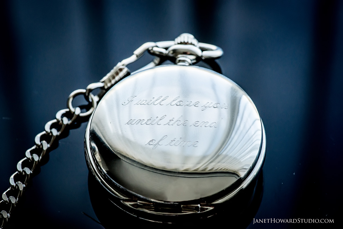 Groom gift pocketwatch