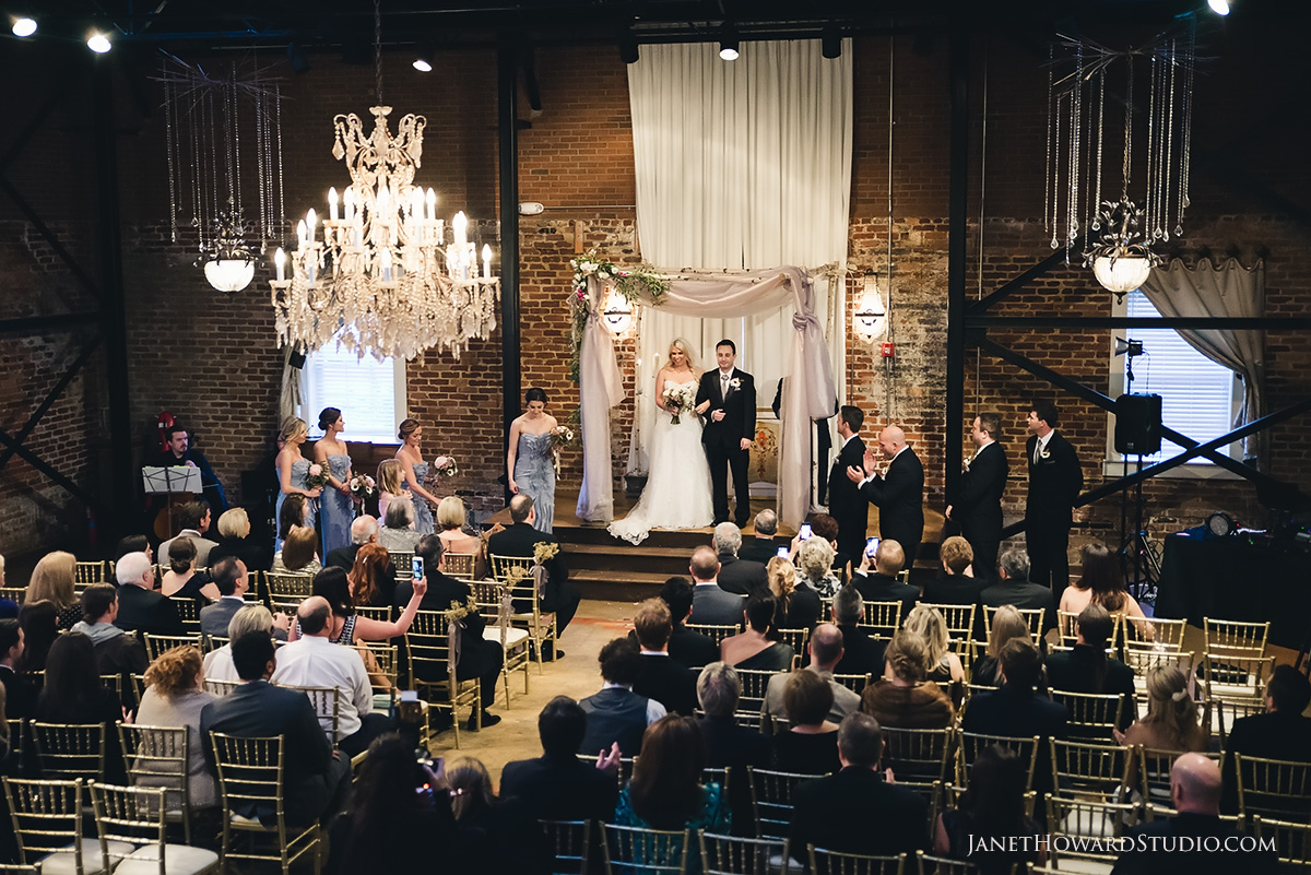 Wedding at Roswell Historic Cottage