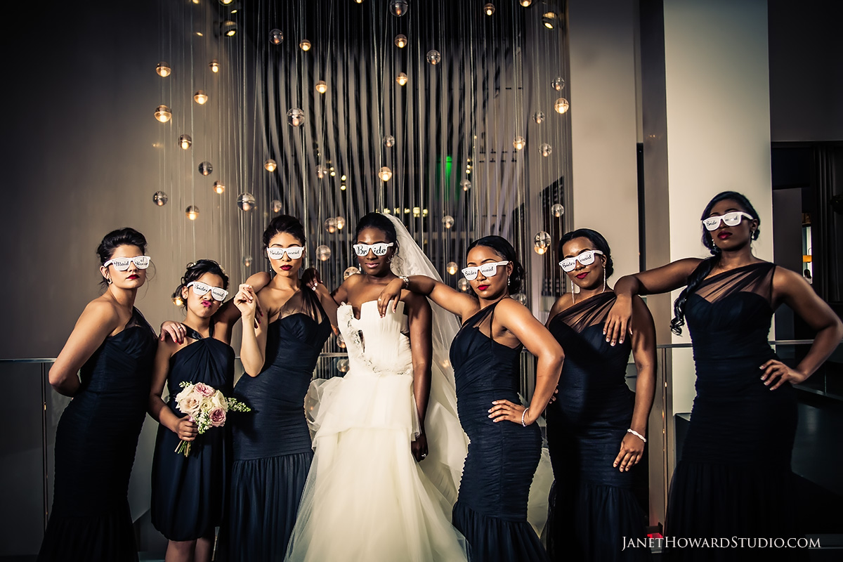 Bridesmaids | Wedding photos at W Midtown Atlanta