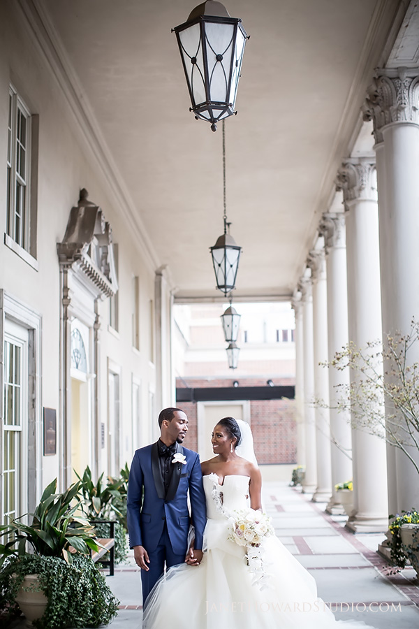 Bride + Groom at Biltmore Ballrooms Atlanta