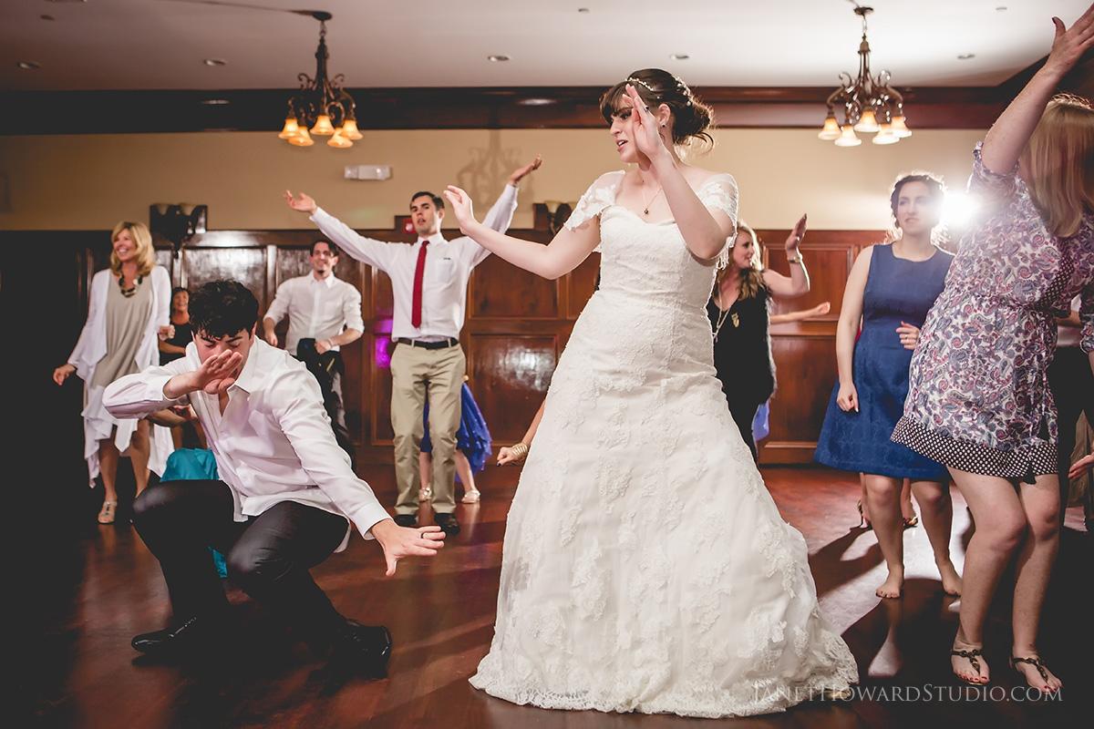 Wedding reception at Glendalough Manor