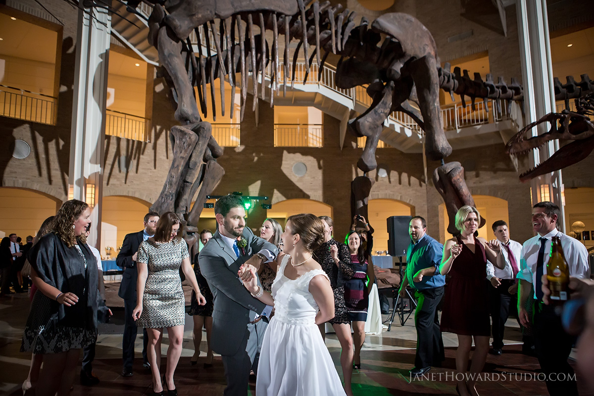 Fernbank Museum Wedding Reception