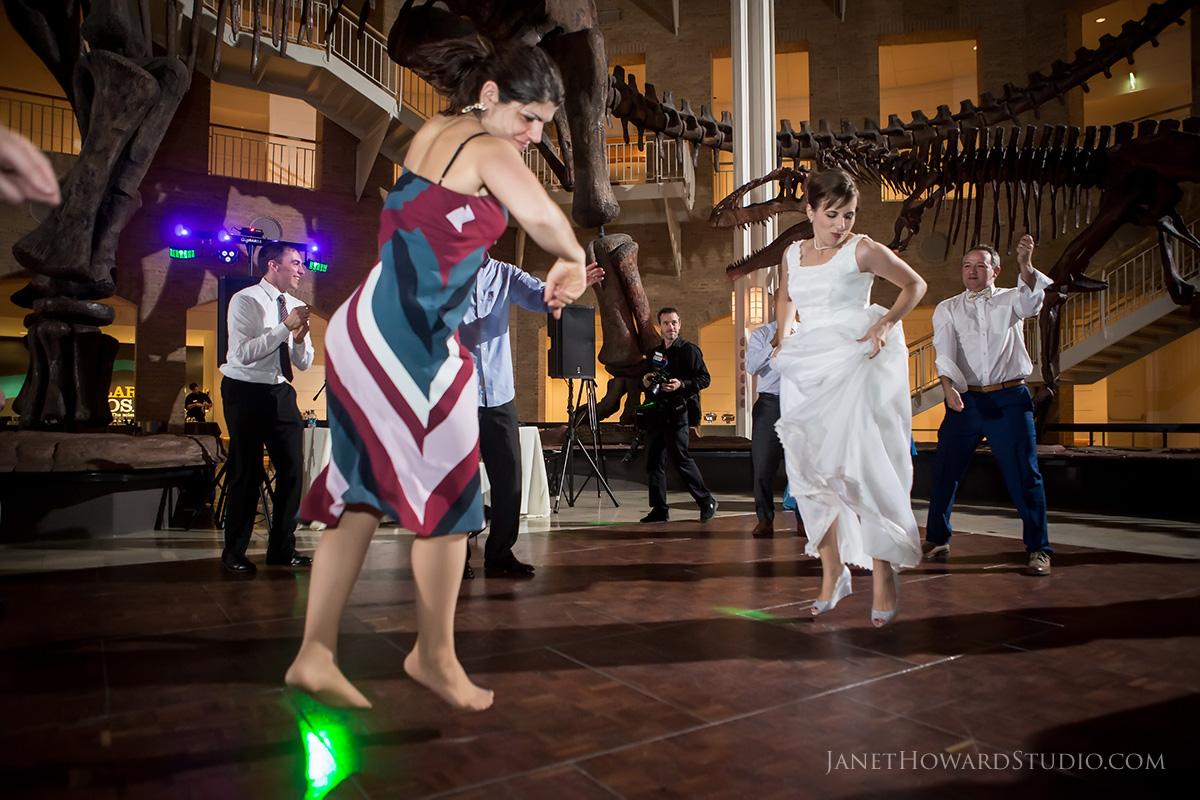 Fernbank Museum Wedding Reception