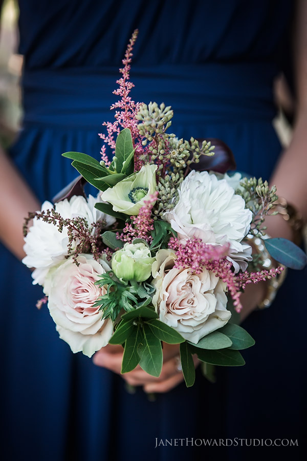 Bridesmaid bouquet by Candler Park Flowers