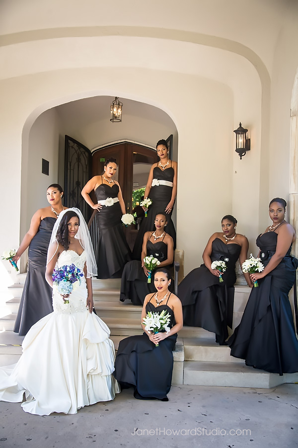 Bridesmaids at Callanwolde