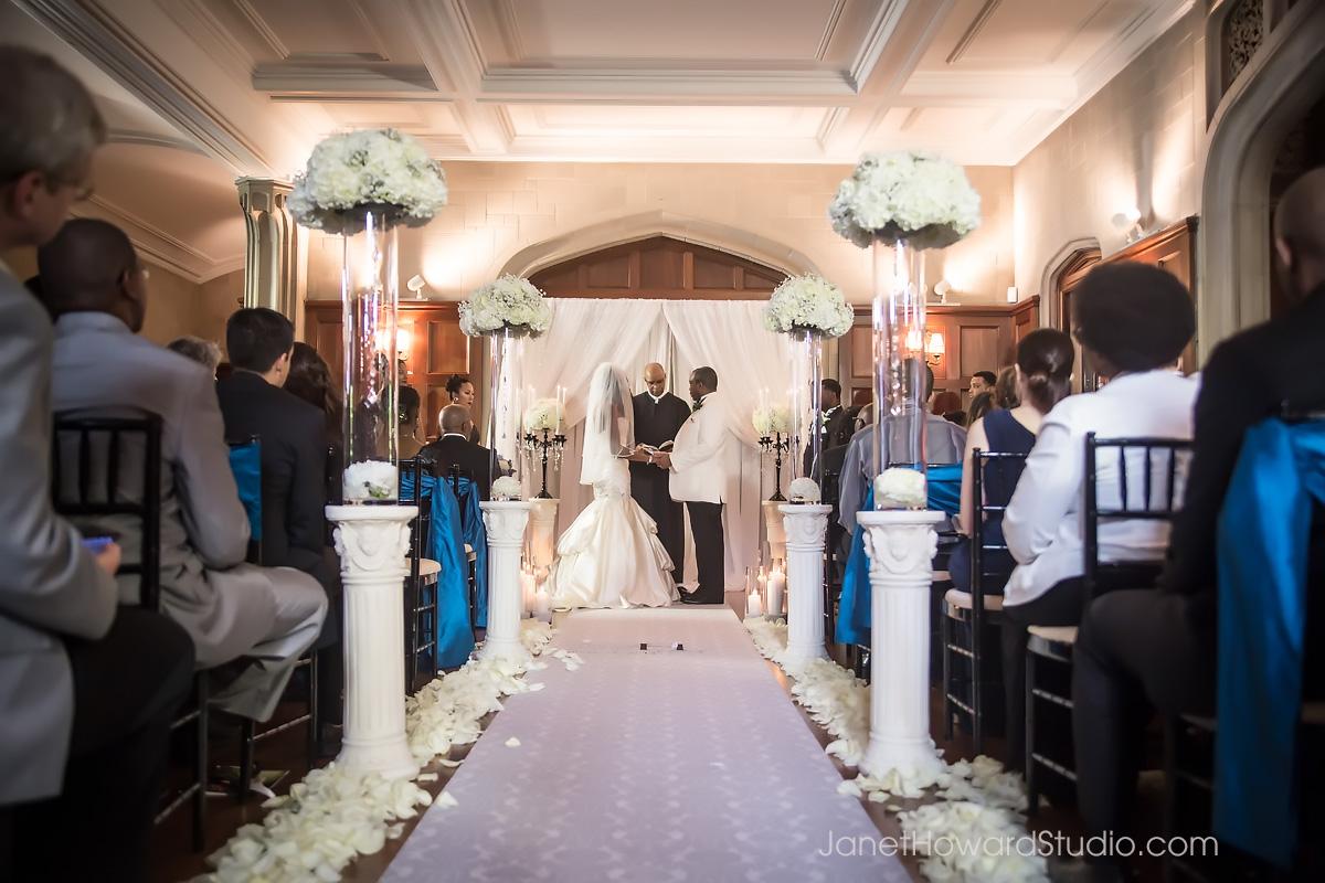 Callanwolde wedding ceremony