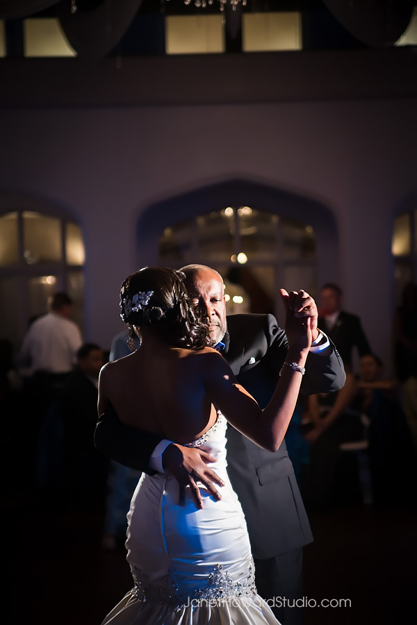 father bride dance at Callanwolde