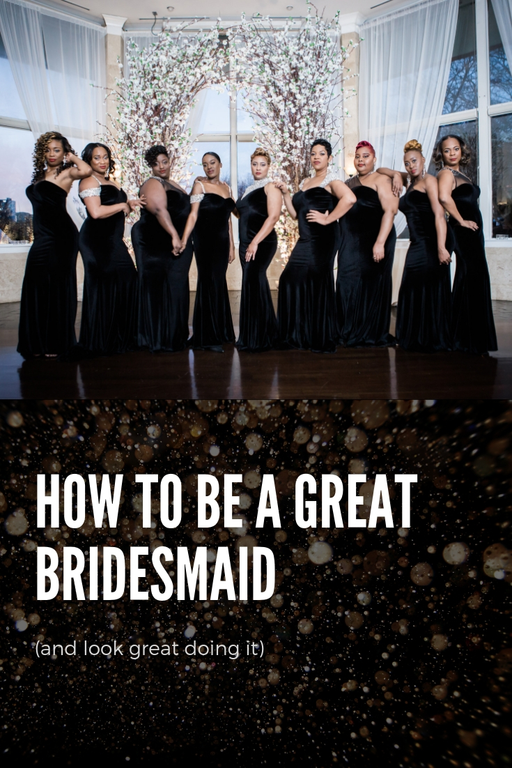 how to be a great bridesmaid