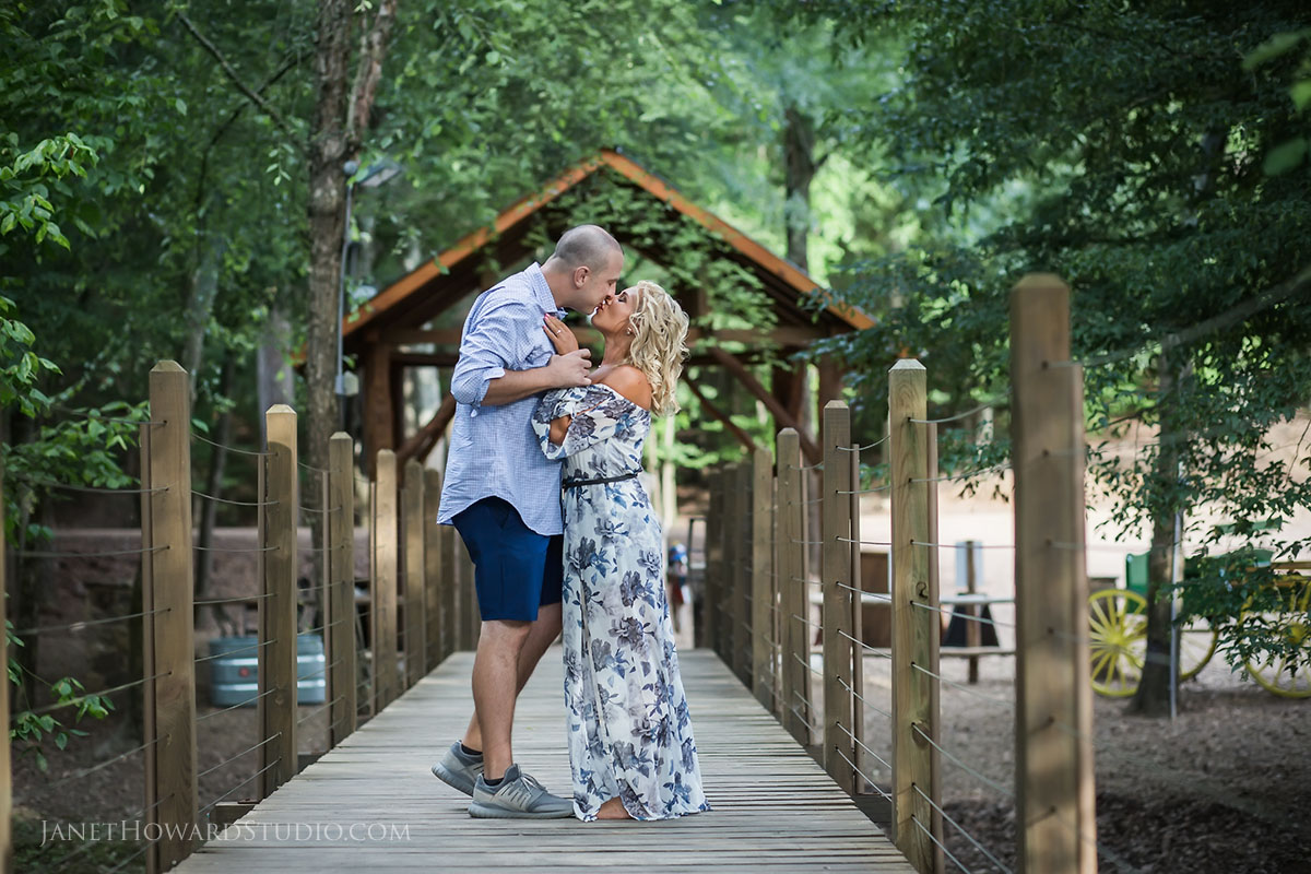 Engagement photos at Copper Creek Farms
