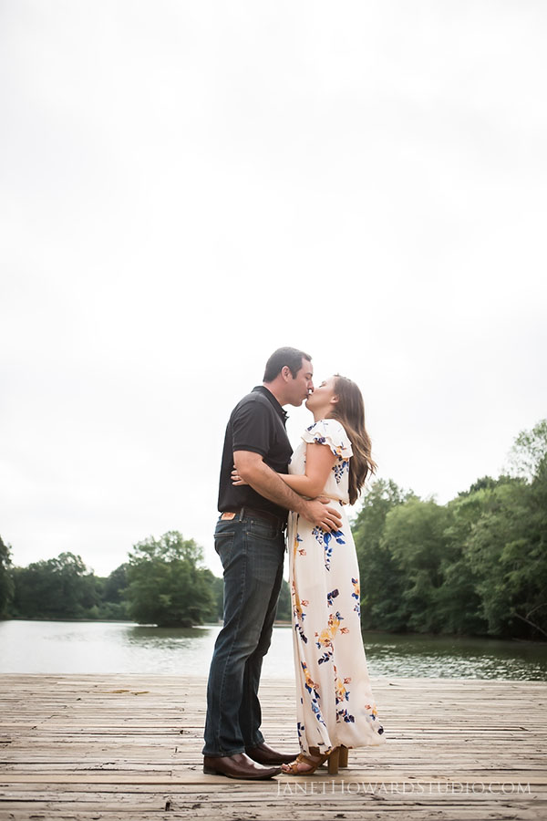 Engagement photos at Piedmont Park