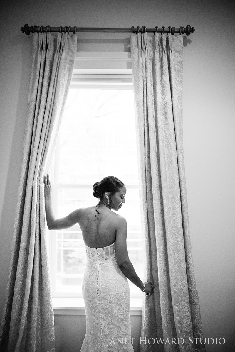 Bride at Wimbish House
