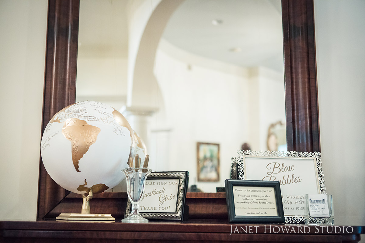 Guest book alternative - globe
