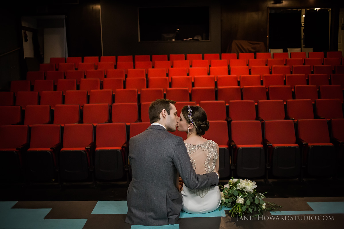 Wedding in a theater