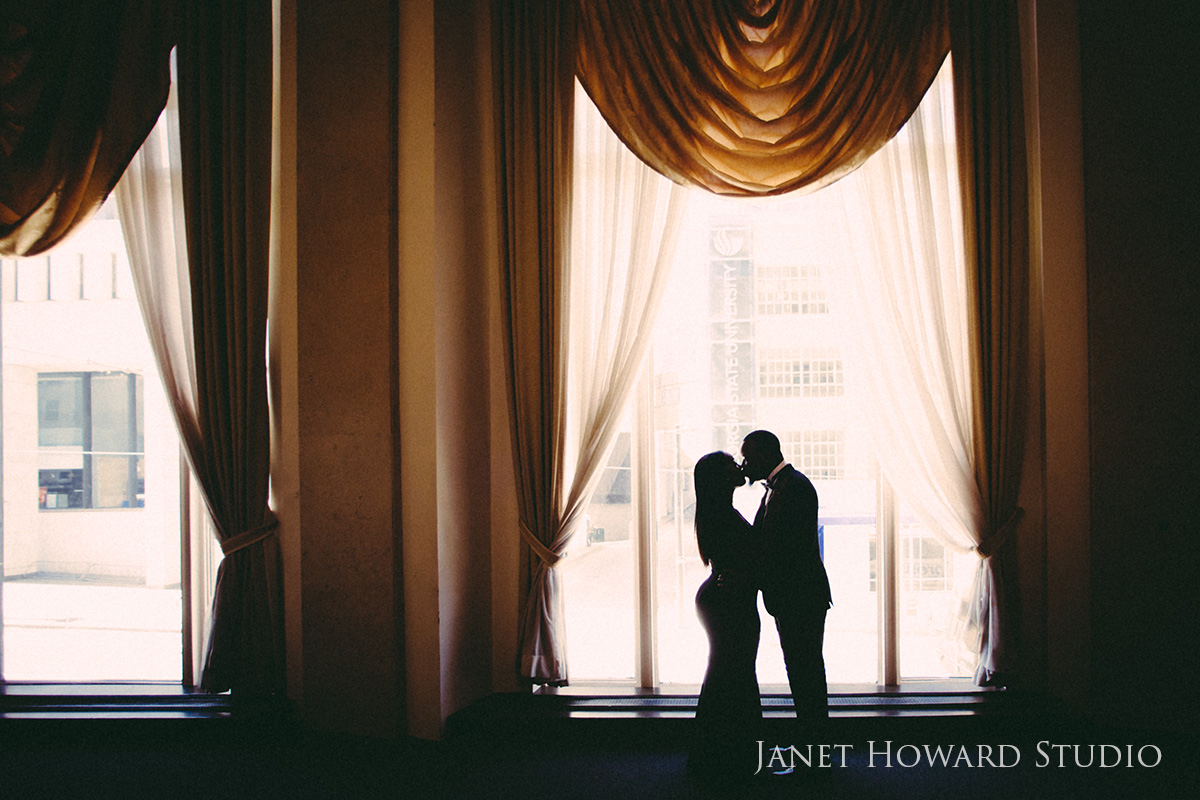 Engagement Photos at The Venetian Room Atlanta