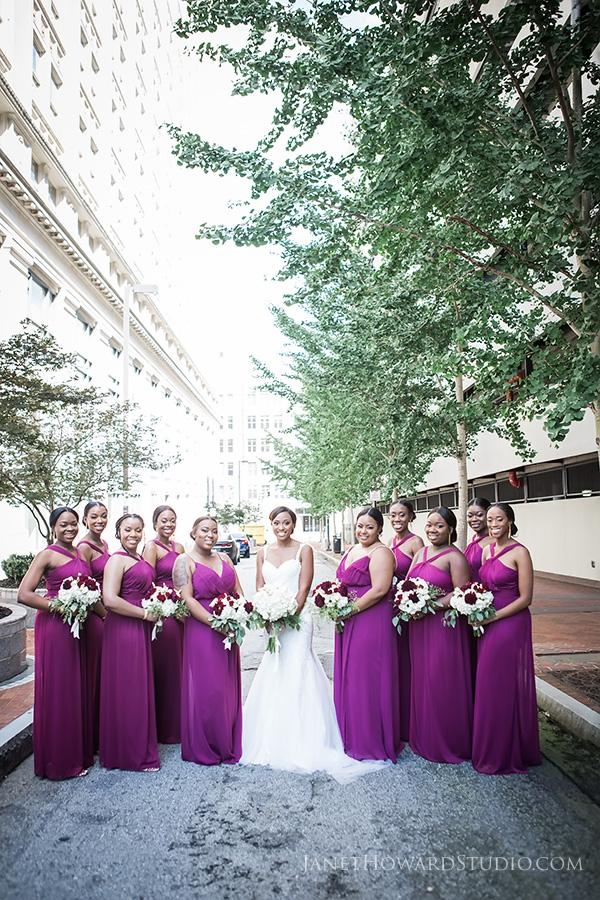 Bridesmaids at the Venetian Room Atlanta
