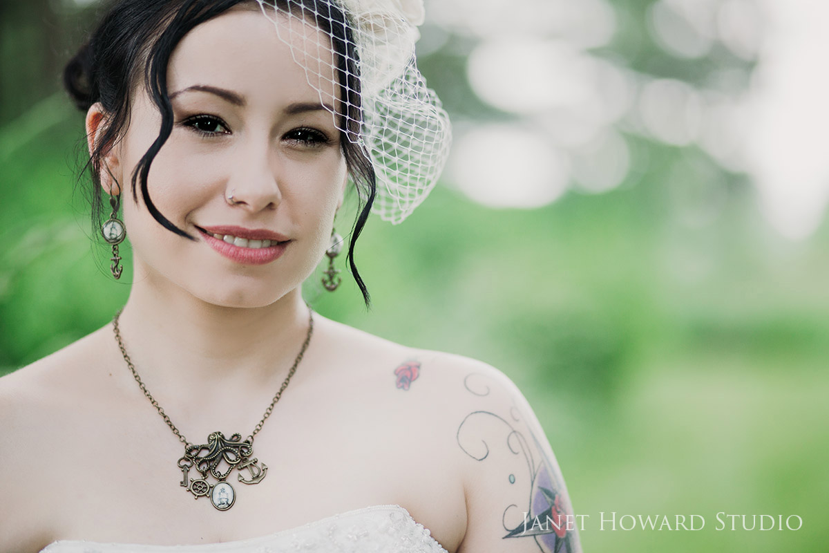 Pirate themed bride