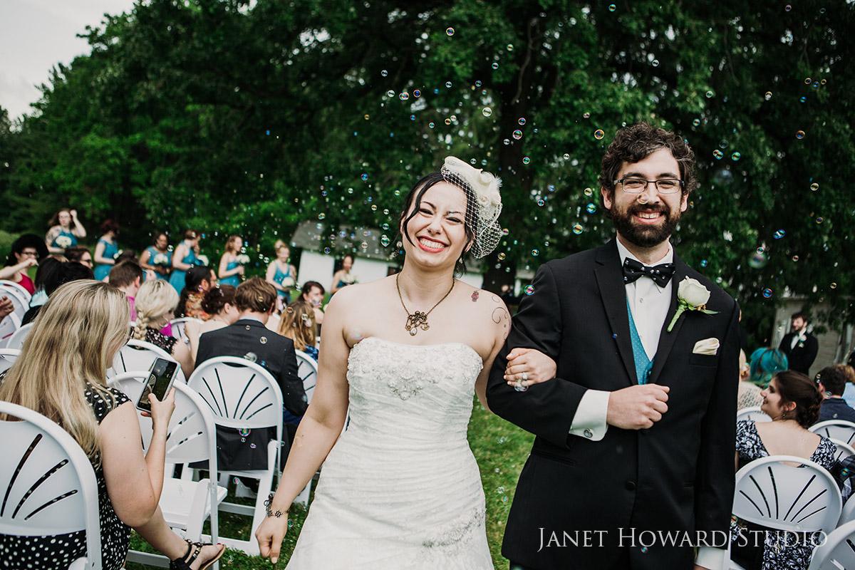 Pirate themed wedding ceremony