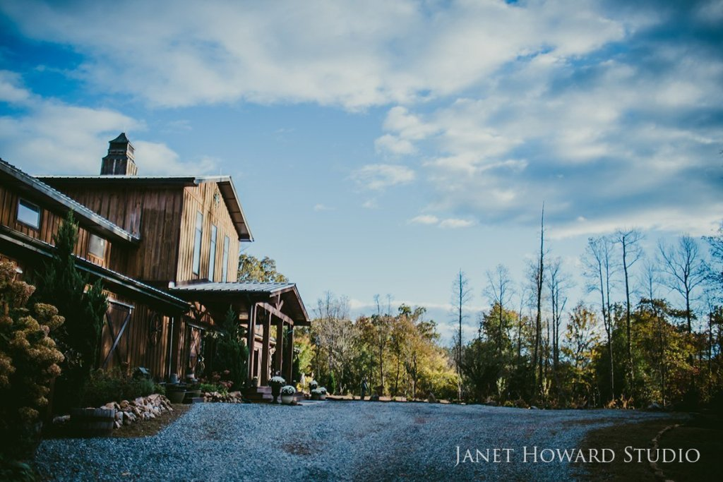 Wedding on Georgia family farm