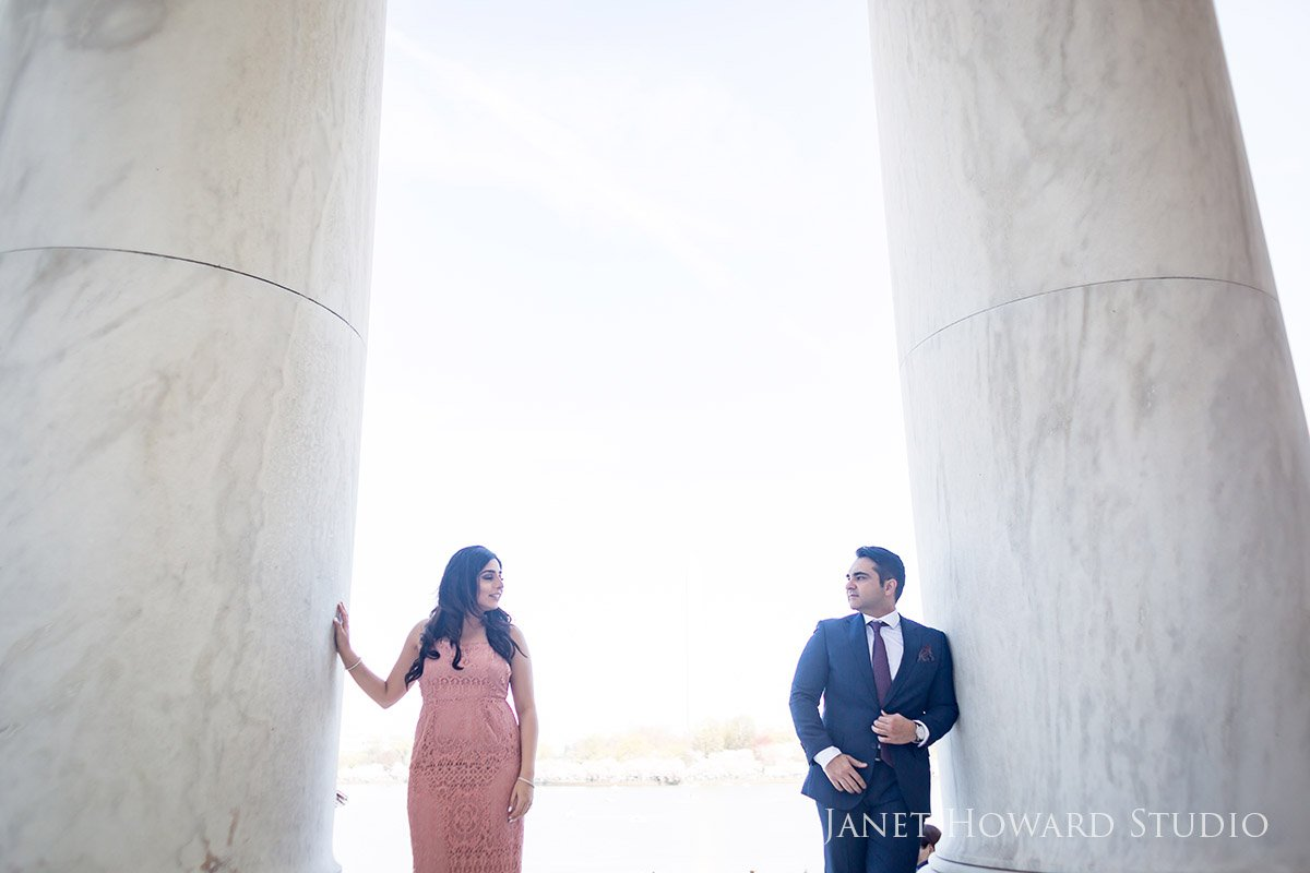 jefferson memorial engagement