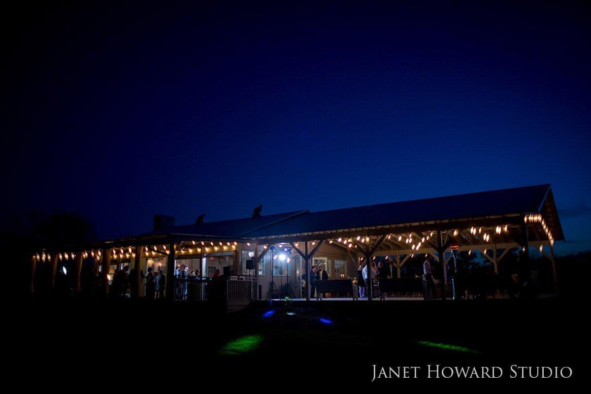 Wedding reception at West Milford Farm