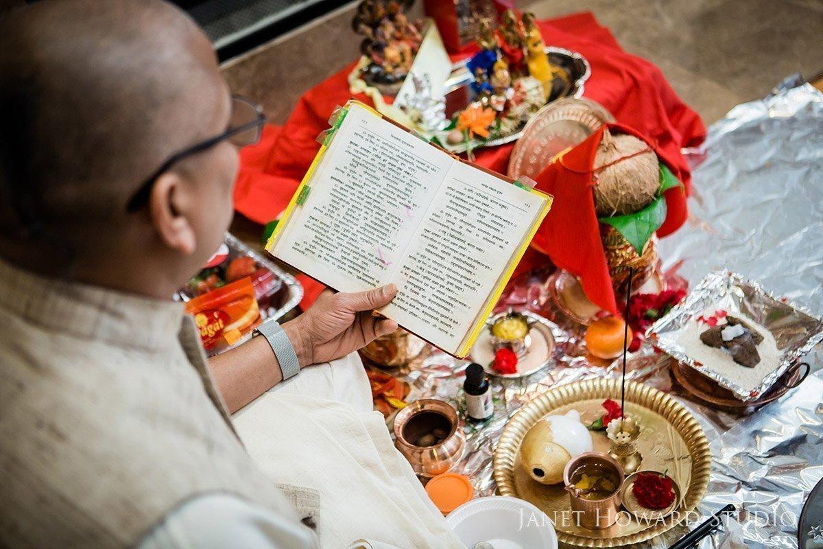 Indian Hindu prayers