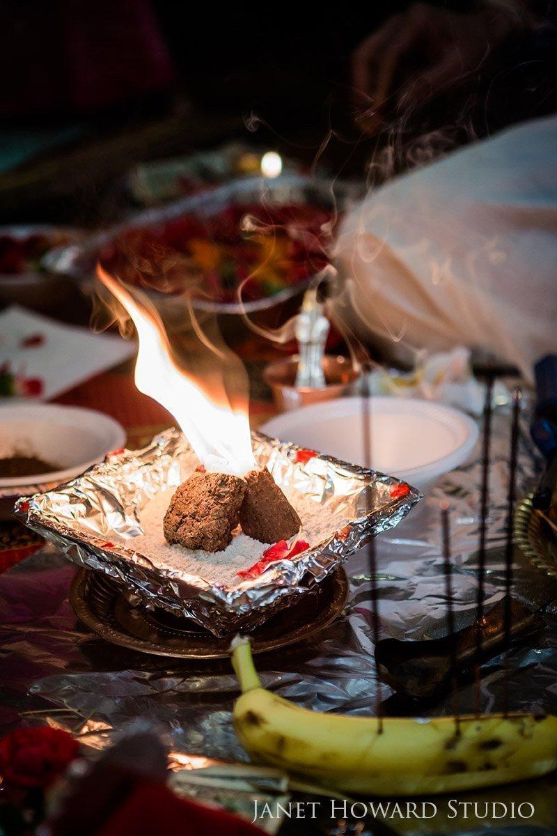 Hindu pre-wedding prayers