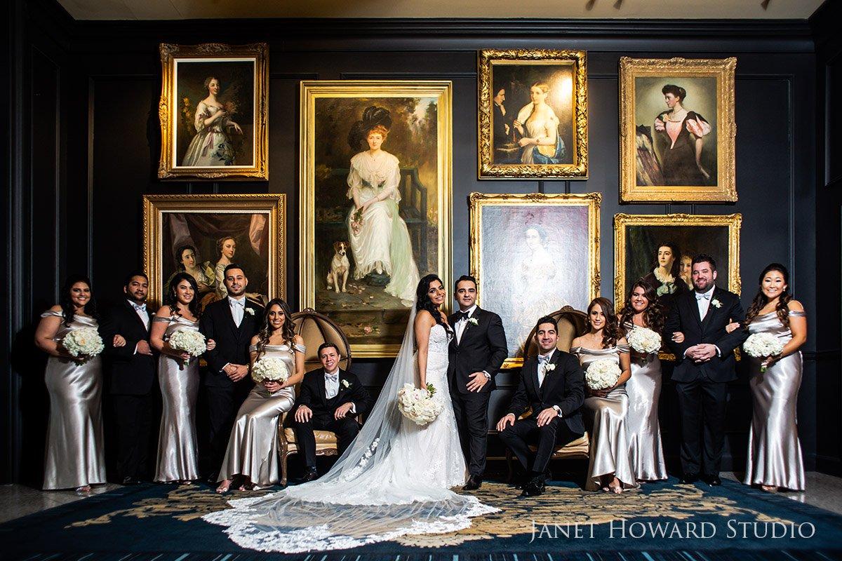 Wedding party Photos at The Ritz-Carlton, Atlanta, GA