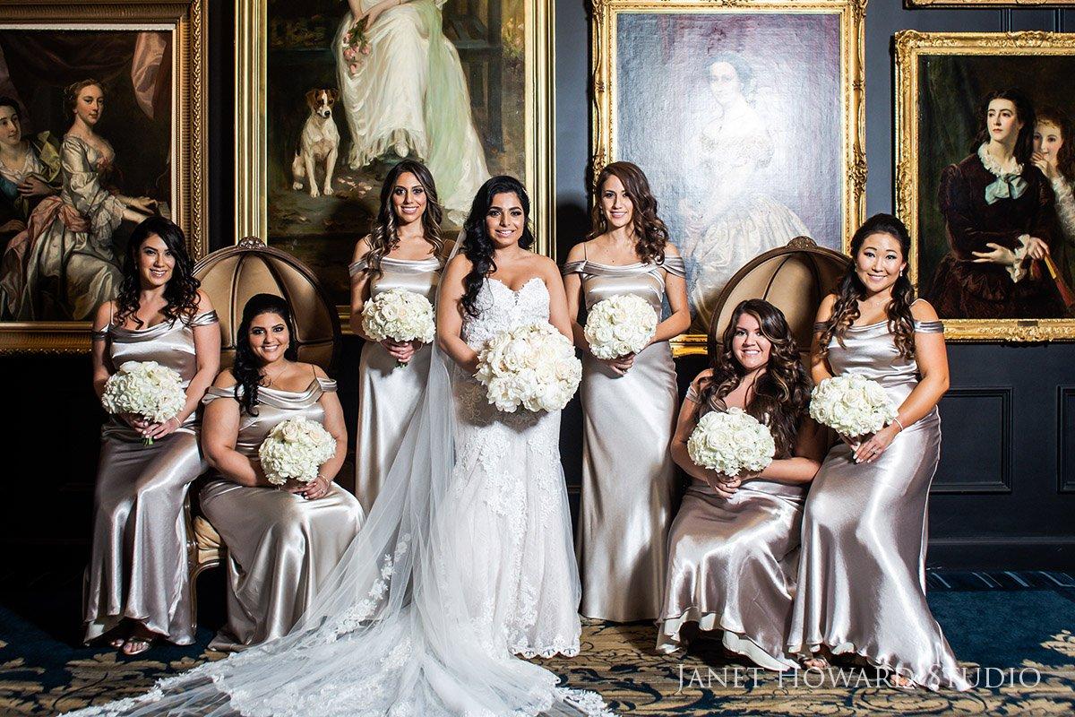 Bridesmaids Photos at The Ritz-Carlton, Atlanta, GA