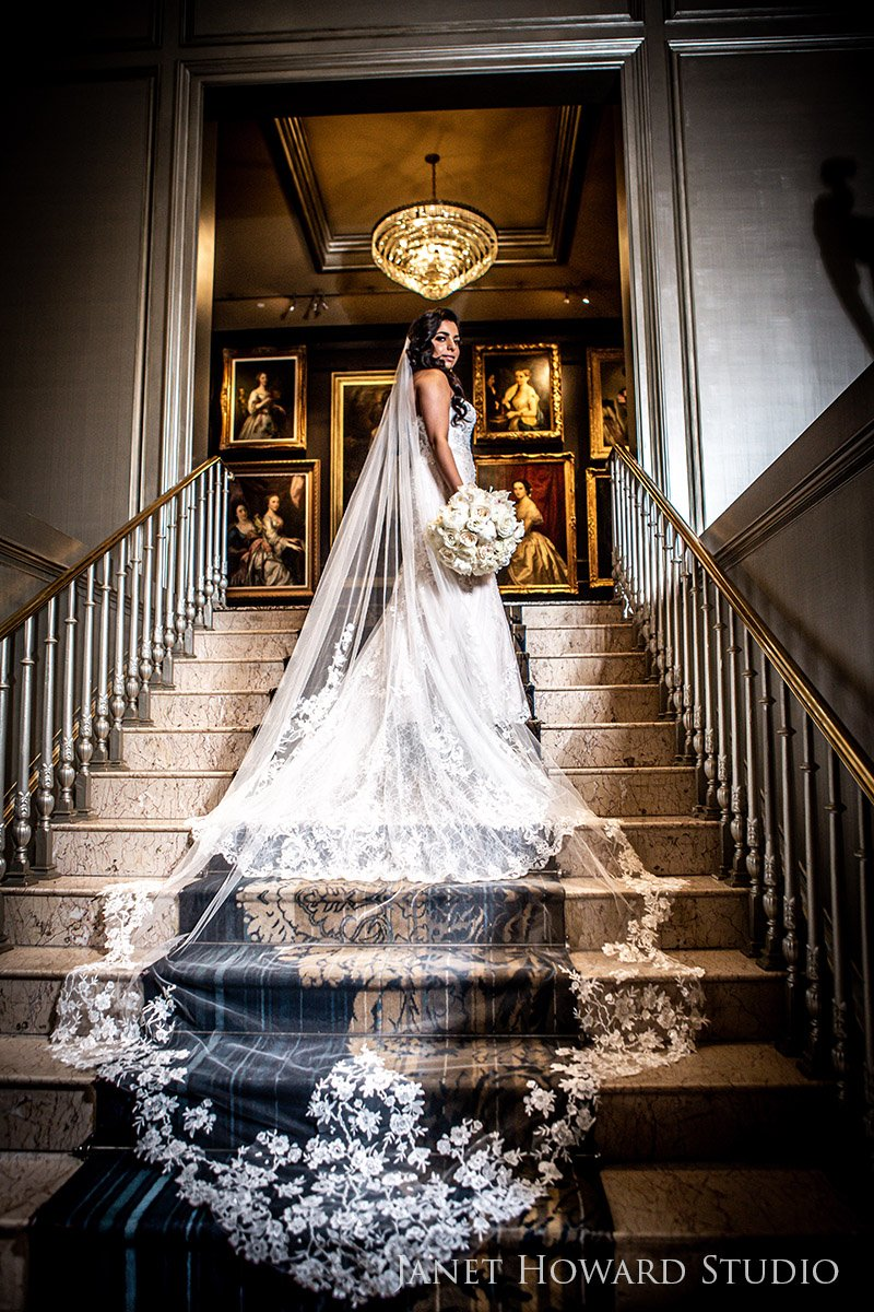 Bride Portrait Photos at The Ritz-Carlton, Atlanta, GA