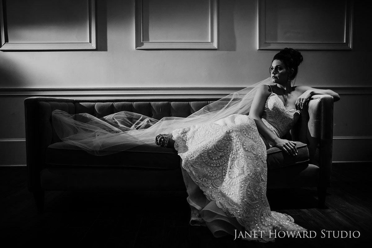 Bride Portrait at the The Estate, Buckhead, GA