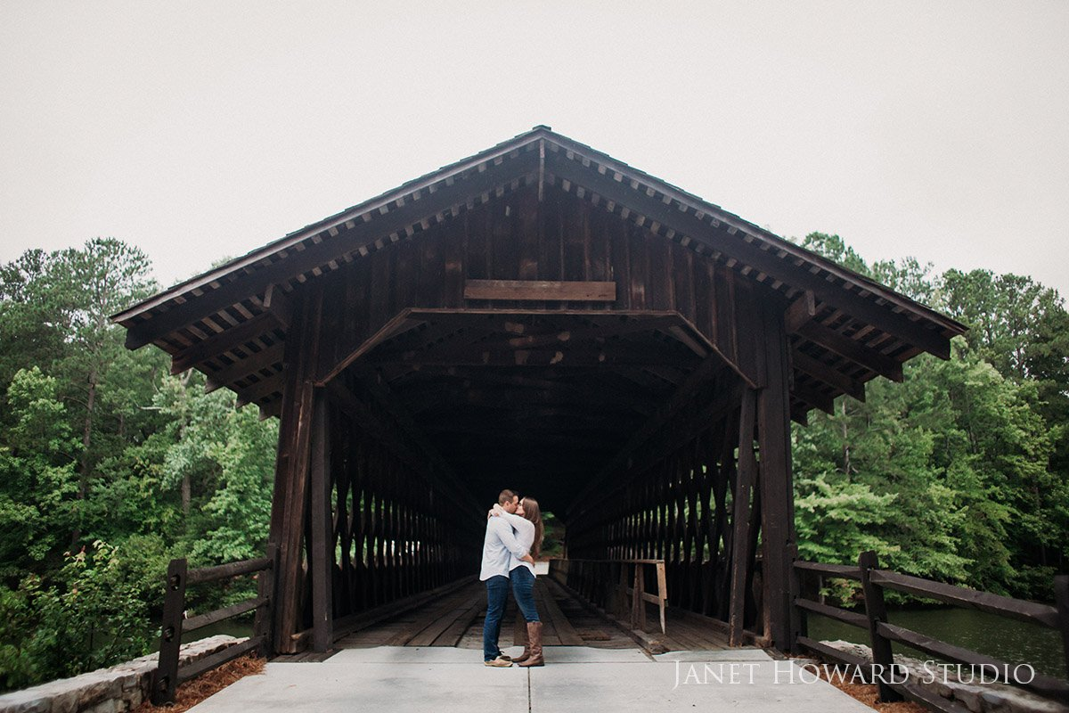 Stone Mountain Engagement Photo Shoot