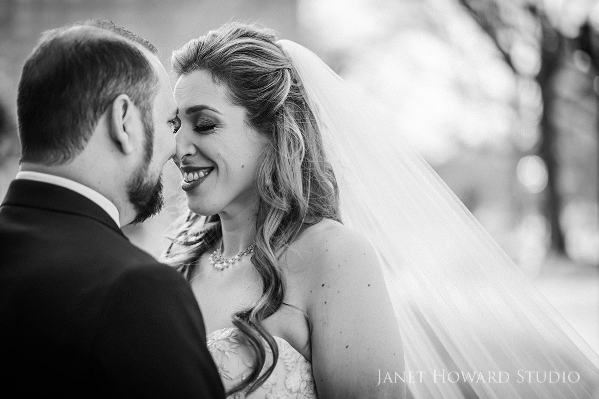 Intimate Bride and Groom Wedding Portraits
