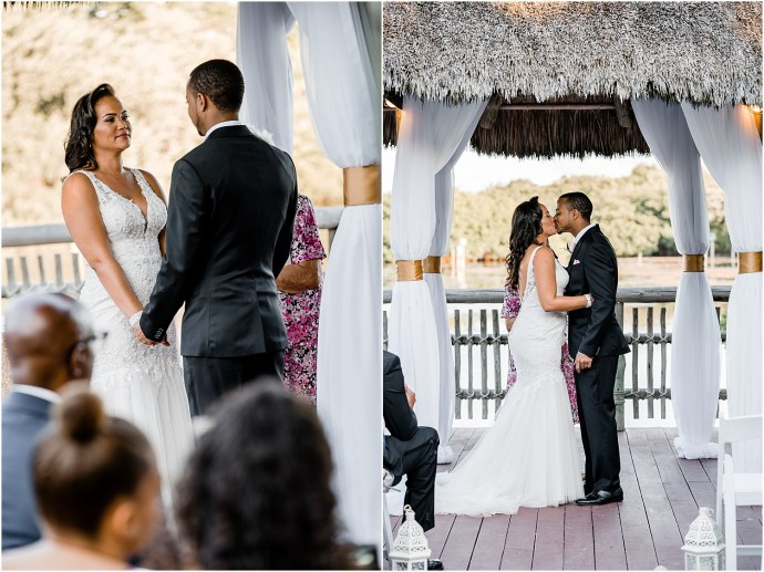 stylish cayman wedding