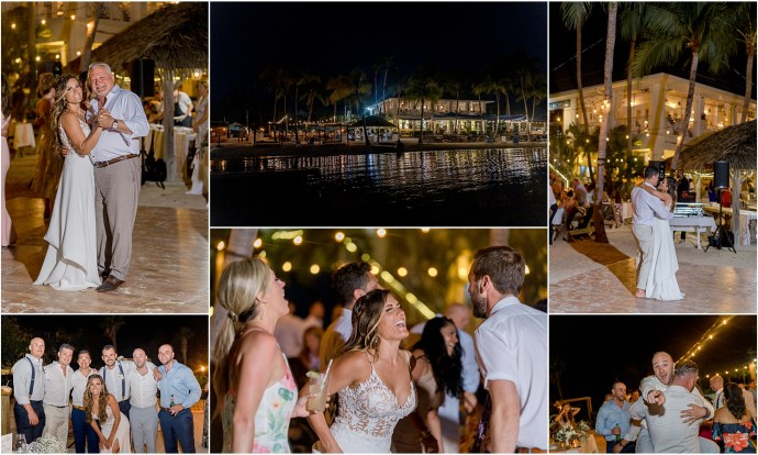 kaibo beach wedding reception