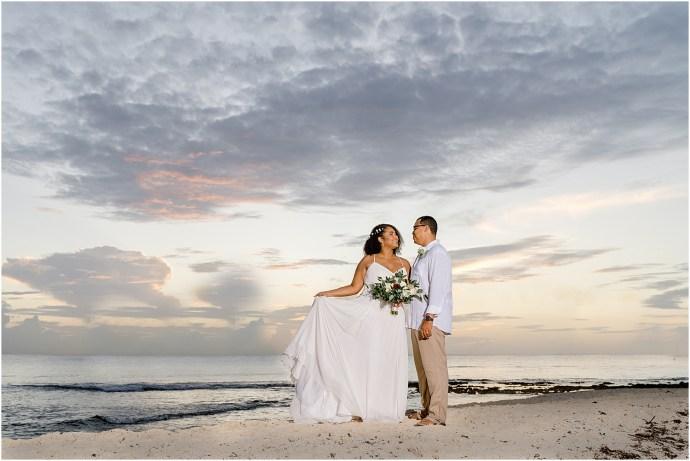 beachy wharf wedding cayman islands