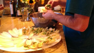 Stuffing the endive