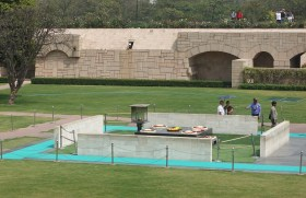 Gandhi's Memorial