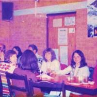 SAD FAREWELLS EASED BY COFFEE & CAKE AT KC's, Kathmandu 1976