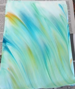 Paper marbling process 2