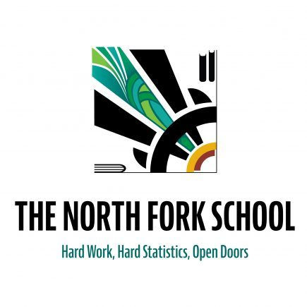 The North Fork School McCall, Idaho logo