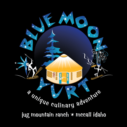 Blue Moon Yurt Logo for Blue Moon Outfitters, LLC