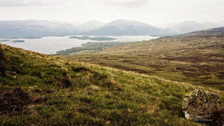 landscape, loch lomond, scotland, West Highland Way, lake, mountains