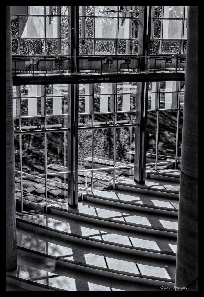 B+W, Window, UBC, BC, Reflections