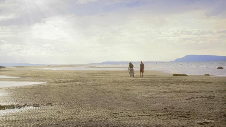 seascape, landscape, people, Qualicum Beach, BC