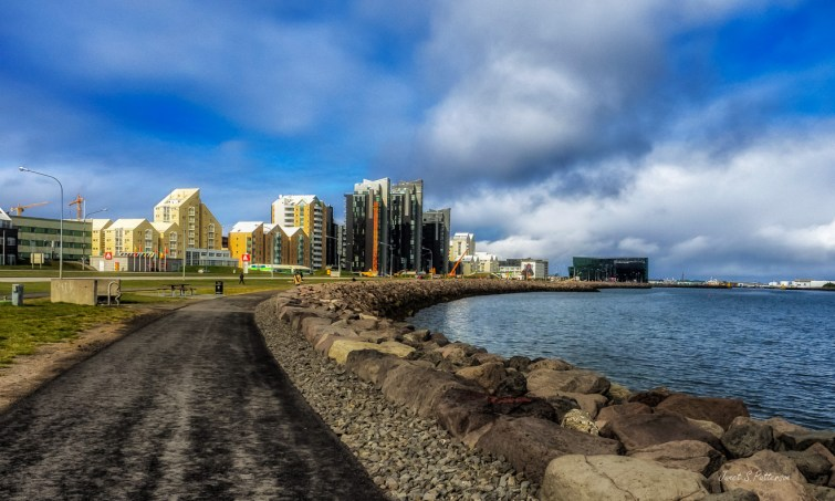 Cityscape, Reykjavik, Iceland, waterfront, seascape