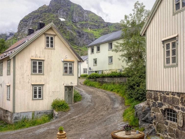 cityscape, heritage, buildings, architecture, Nusfjord, Norway, Lofoten archipelago