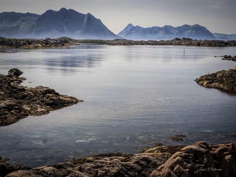 seascape, landscape, ocean, Laukvik, Lofoten, Norway