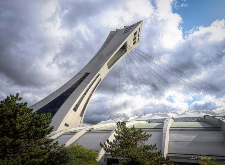 architecture, cityscape, Olympic Stadium, Big O, Montreal