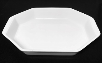 "Octagonal Dish 13"" x 10"""