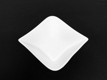 """Small Pinched Corner Bowl 4"""""""